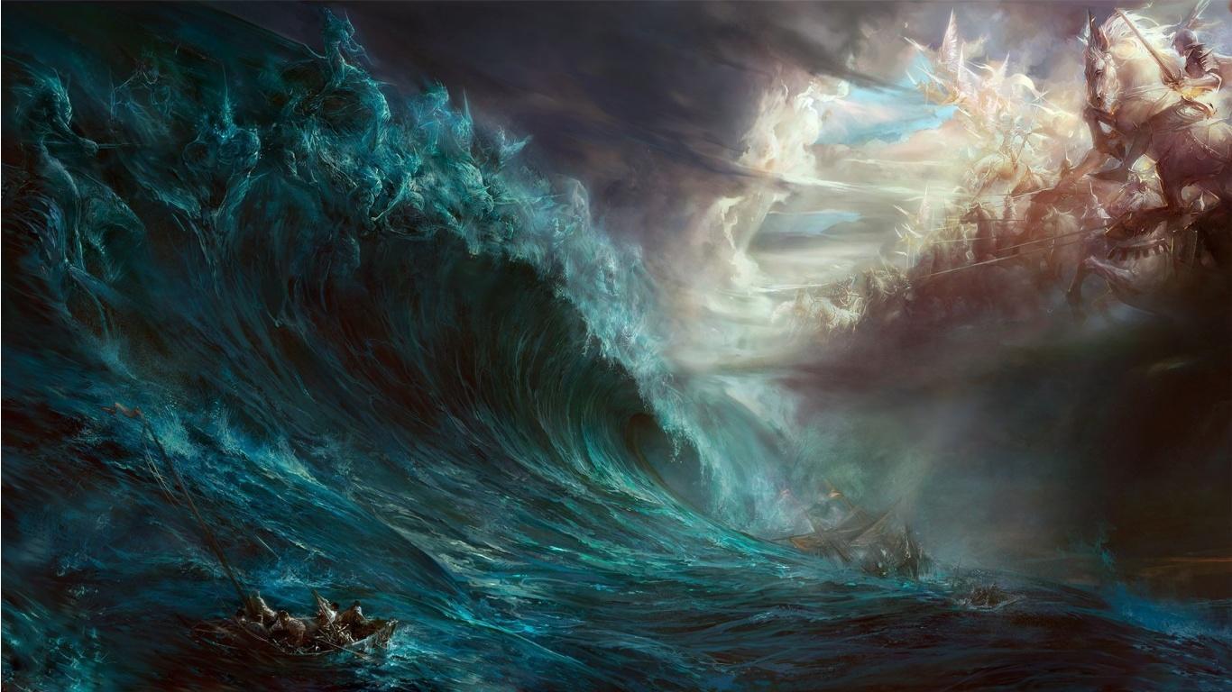Let the Biblical Floods Subside